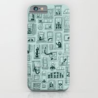 iPhone & iPod Case featuring I've Seen Strange Things in City Windows by WanderingBert / David Creighton-Pester