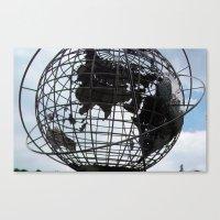Trump Tower, Globe,  Canvas Print