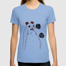 Im Apples Womens Fitted Tee Athletic Blue SMALL