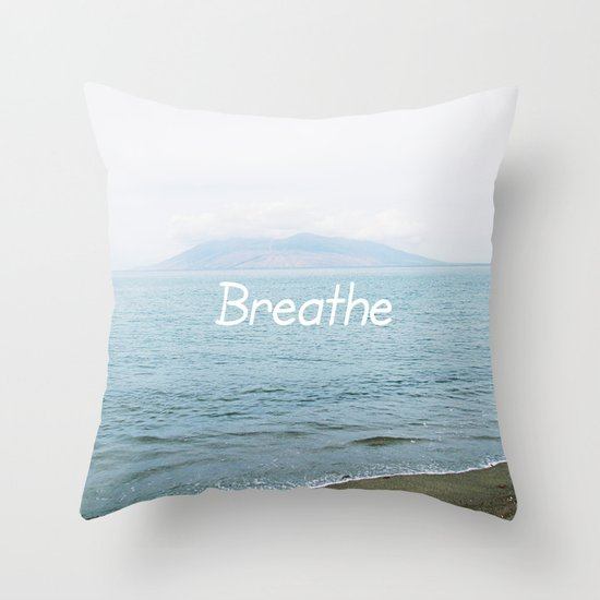 Take a moment and ... Throw Pillow