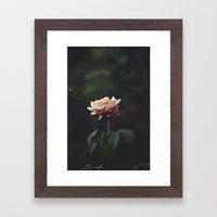 A Little Romance Framed Art Print