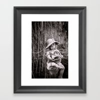 Under the Willow Tree II Framed Art Print
