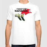 Reservoir Bananas Mens Fitted Tee White SMALL