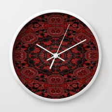 Regal Red 2 Wall Clock