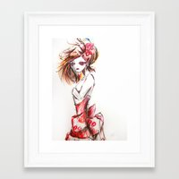Sketch Framed Art Print