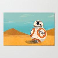 The Little Droid That Co… Canvas Print