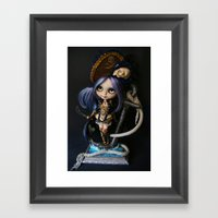 LADY BUCCANEER PIRATE OO… Framed Art Print