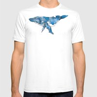 A Whale Of A Time. Mens Fitted Tee White SMALL
