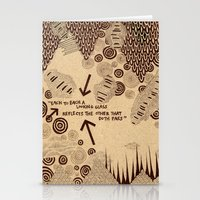 Each to each a looking glass Stationery Cards