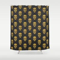 The Golden Child Shower Curtain