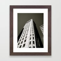 Foshay Tower Framed Art Print