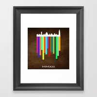 MMXIII Framed Art Print