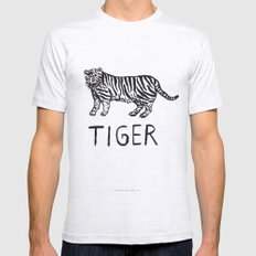 Tiger Mens Fitted Tee Ash Grey SMALL
