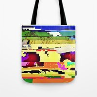 Paint On The Monitor #2 Tote Bag