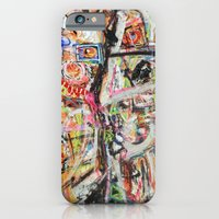 iPhone & iPod Case featuring Les Demoiselles d'Bushwick by chrisdacs
