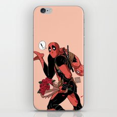 I'll take you away Valentine iPhone & iPod Skin