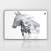 Trotting Up A Storm Laptop & iPad Skin