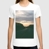 Road Trip Womens Fitted Tee White SMALL