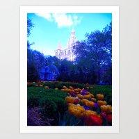 Path Of Petals Art Print
