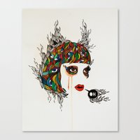 M#2 Canvas Print