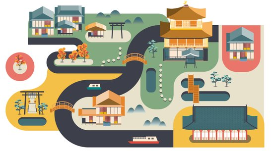 Kyoto, Japan Art Print