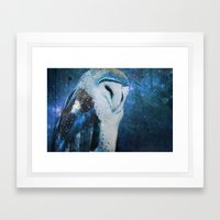 The Owl of Winter Framed Art Print