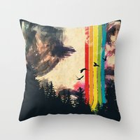 Nox Noctis Throw Pillow