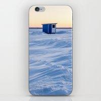 The fishing cabin iPhone & iPod Skin