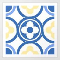 Floor tile 7 Art Print