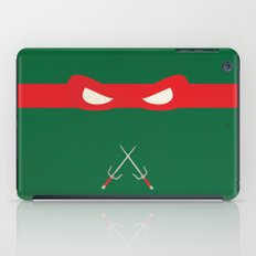 Red Ninja Turtles Raphael iPad Case