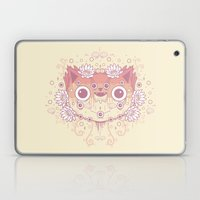 Cat flowers Laptop & iPad Skin