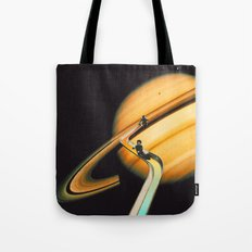 Saturn escape Tote Bag