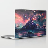dream Laptop & iPad Skins featuring The Lights by Alice X. Zhang