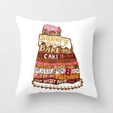 Pat A Cake Throw Pillow