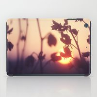 Garden Sunset iPad Case