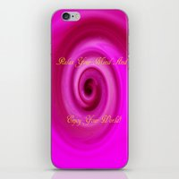 Relax And Enjoy Your Wor… iPhone & iPod Skin