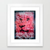 The Good And Noble King Framed Art Print
