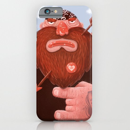 Biker in love iPhone & iPod Case