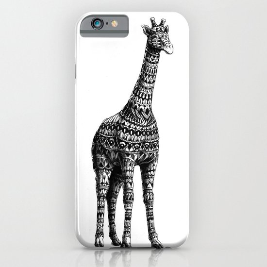Ornate Giraffe iPhone & iPod Case