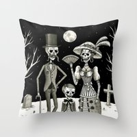 Family Portrait Of The P… Throw Pillow
