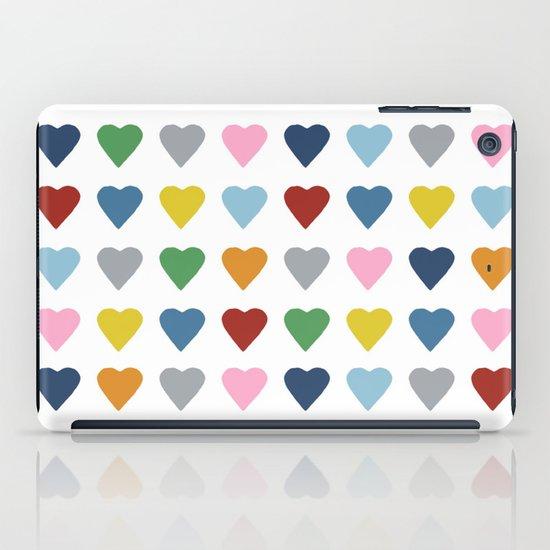 64 Hearts iPad Case