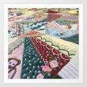 Quilt Design Art Print