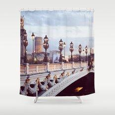 Pont Alexandre III Paris. Shower Curtain