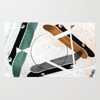 Skatestriangles Rug