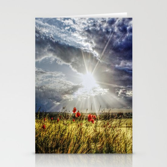 Summer happens Stationery Card