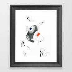 VACANCY Zine - The Great Passive Cosmic Birth Framed Art Print
