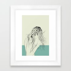 Woman Color 8 Framed Art Print