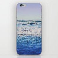 Indigo Waves iPhone & iPod Skin