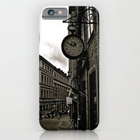 iPhone & iPod Case featuring Old Fashion Time by JuliHami