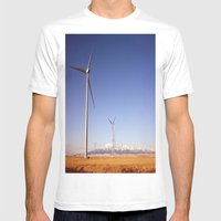 Windmill Country Mens Fitted Tee White SMALL